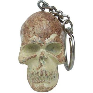 アンティークスカルヘッドキーホルダー Alloy Skull Head
