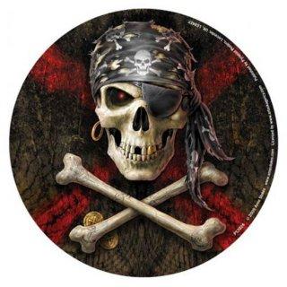 パイレーツスカルステッカー AnneStokes Pirate-Skull