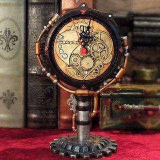 スチームパンク テーブルクロック 置き時計 Steampunk Table Clock