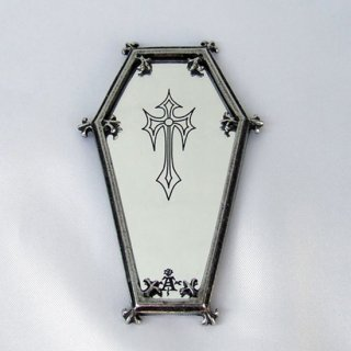 アルケミーゴシック・コンパクトミラー Coffin