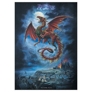 アルケミーゴシック アートポスター The Whitby Wyrm dragons