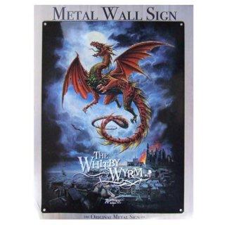 アルケミーゴシック・メタルサインプレート The Whitby Wyrm