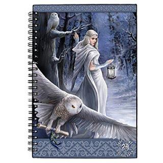 Anne Stokes ミッドナイトメッセンジャー リングノート Midnight Messenger Journal