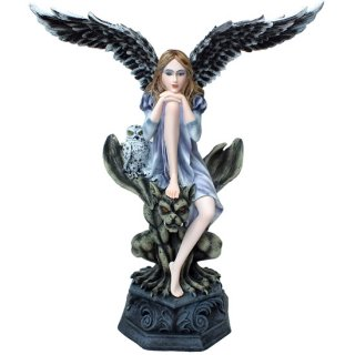 ダークエンジェル オン ガーゴイル Dark Angel on Gargoyle with Owl
