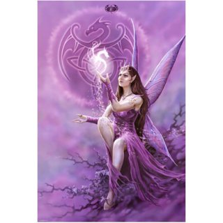 Spiral アートポスター Fairy