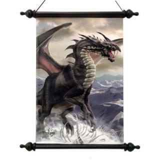 Tom Wood アートスクロール Rogue Dragon