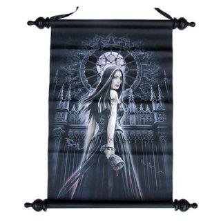 Anne Stokes アートスクロール Gothic Siren