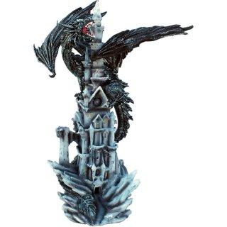 【同梱不可】ラージドラゴン&キャッスルスタチュー(像) Midnight Dragon Karthus XL