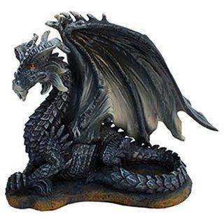 ダークドラゴンフィギュア Dark Dragon Statue Bk&Gy