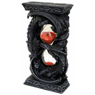 ゴシック ダブルドラゴンズ サンドタイマー 砂時計 Double Dragons Sandtimer Gothic