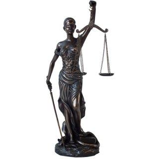 正義の女神 レディー ジャスティス スタンディング ブロンズスタチュー(像)12インチ Lady Justice Standing Bronze Statue 12Inch