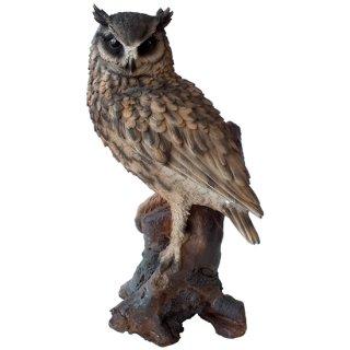 ワシミミズク イーグルフクロウ L オブジェ/置物 Eagle Owl Sculpture Statue L