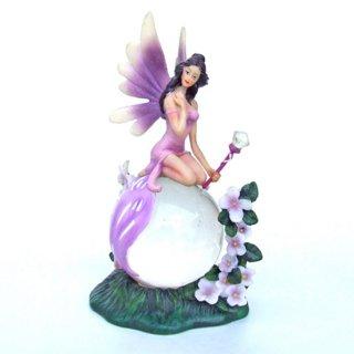 Jennifer Galasso 誕生石の妖精−2月 Birthstone Fairy February
