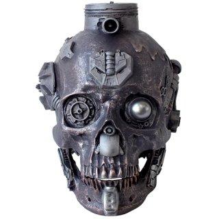 スチームパンクスカルヘッド Steampunk Machine Skull F10