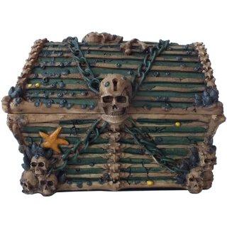 パイレーツチェスト 海賊宝箱・装飾小物入れボックス Davy Jones Chest  Pirate Skeleton Container