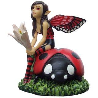 フェアリーフィギュア(像) リリーバグの妖精 Lilybug Fairy