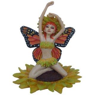 フェアリーフィギュア(像) ヒマワリの妖精 Sunflower Fairy