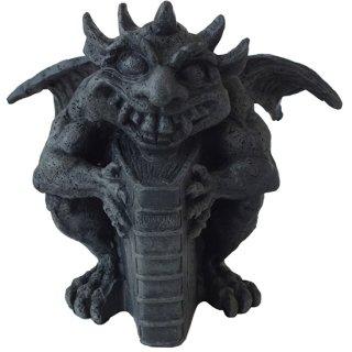 ゴシック クレイジーガーゴイルスタチュー(像) Gothic Crazy Gargoyle Holding Book Statue