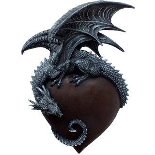 ドラゴンハート ウォールハンギング プラーク(壁飾り) Dragon Heart Wall Hanging Plaque