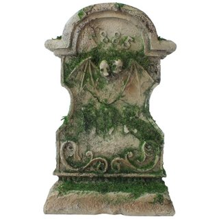 RIP 苔の墓石像 Mossy Tombstone Statue