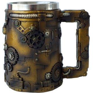 スチームパンクギア マグカップ タンカード Steampunk Gear Tankard