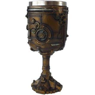 スチームパンクギア ゴブレット Steampunk Gear Goblet