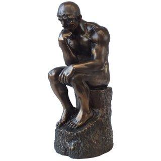 ロダン ブロンズスタチュー(像) The Thinker Robin Bronze Statue