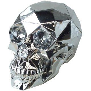 クロムスカル クロームポリゴンスカルヘッド Chrome Polygon Skull