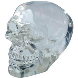 スモールクリスタル スカルヘッド クリア Translucent Clear Small Skull