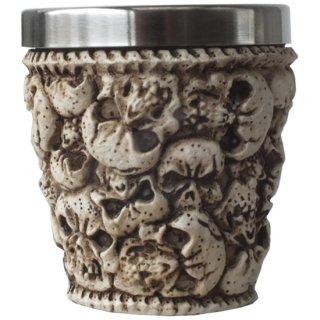 スカルヘッズ(頭蓋骨)ショットグラス Ossuary Skull Shot Glass