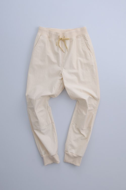 cotton pants plus rib / kinari