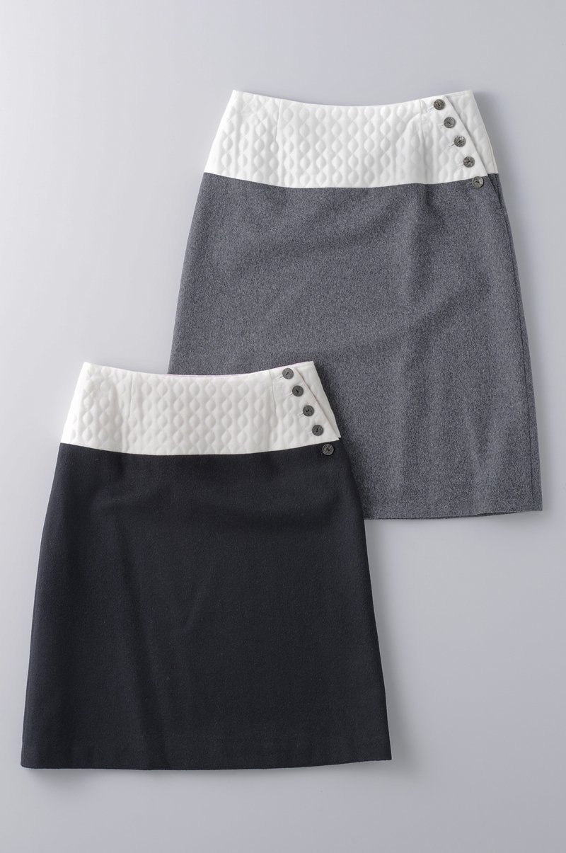 quilting wool skirt