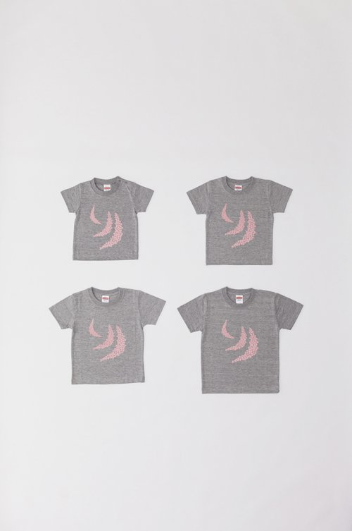 kid's T-shirts 〜3姉妹の月〜