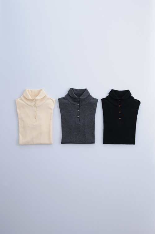 organic cotton high neck c&s