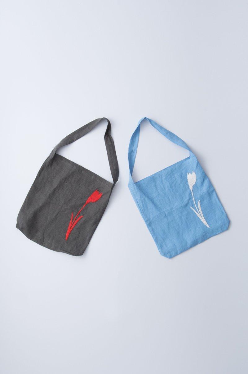 tulip linen bag