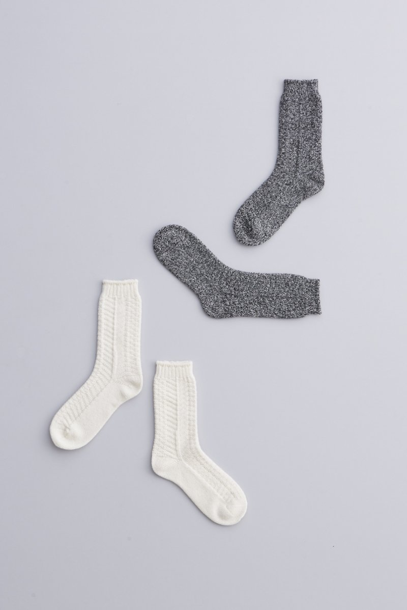 wool ~alan~ middle socks