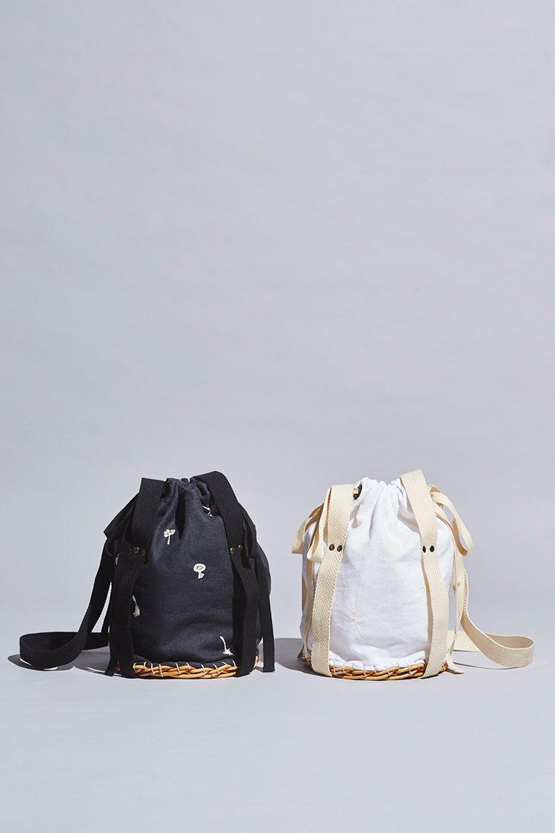 ardem su o × atelier naruse / linen ~nohara~ basket bag