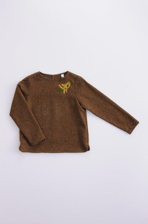 wool ~mimoza~ smock
