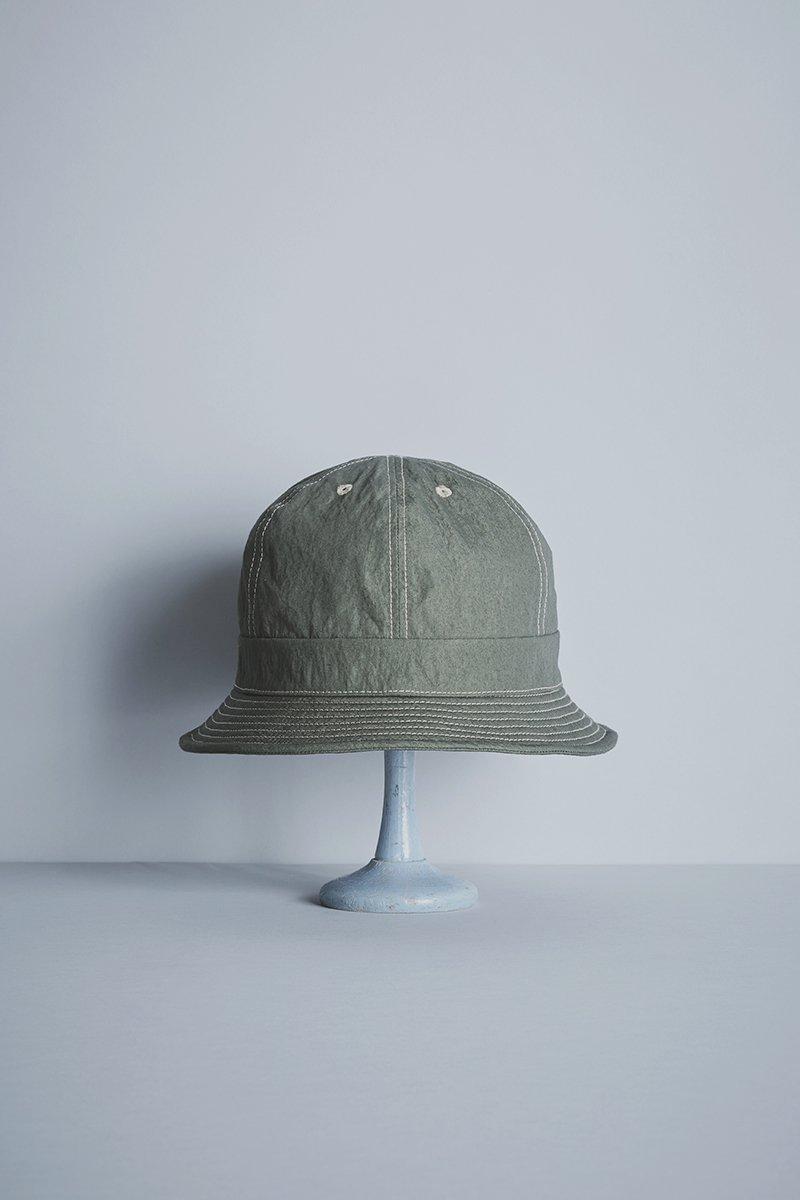 cotton nylon metro hat / khaki