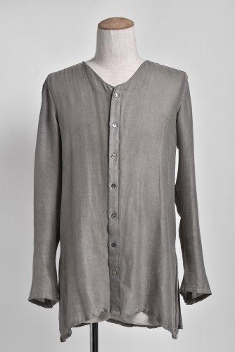 サンプル品 INAISCE ノーカラーシャツ