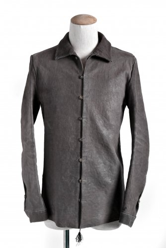 ierib イエリブ ベビーカーフ レザーシャツ