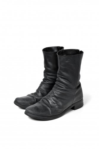 A DICIANNOVEVENTITRE  ホースレザー ST-3  デュアルジップ ブーツ 42  BLACK A1923