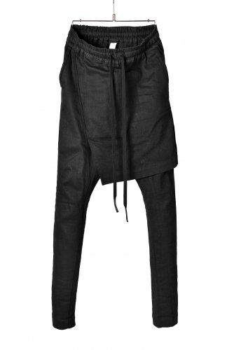 18SS A.F ARTEFACT スキニー スカート パンツ 1 黒