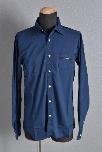 新品 RESOUND CLOTHING レギュラーカラー シャツ 4 NAVY リサウンドクロージング