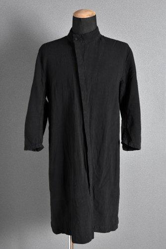 17SS boris bidjan saberi 製品染め H/S バイアス ロングシャツ M 黒