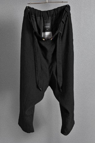 新品 国内未入荷 SOSNOVSKA double breasted pants XS BLACK ソスノブスカ