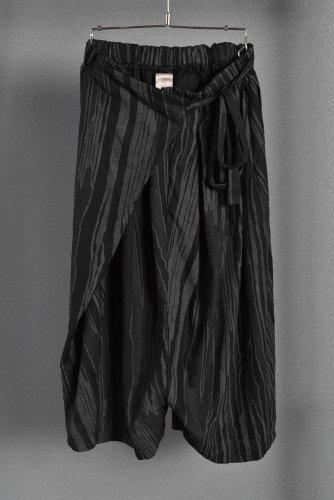 美品 JOE CHIA フロントラップ スカートパンツ S ジョーチア