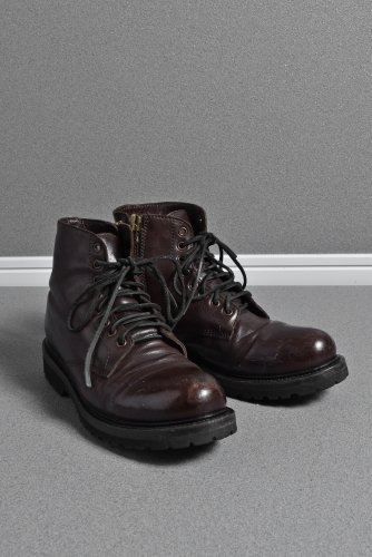 BUTTERO ディーンフジオカ着用 CANALONE B6790 レースアップブーツ 41 BROWN