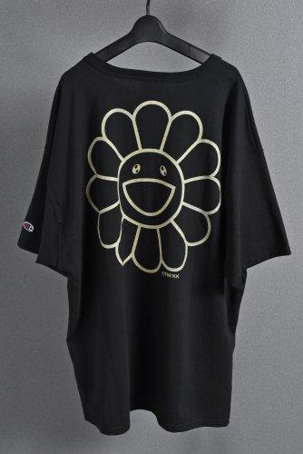 <img class='new_mark_img1' src='https://img.shop-pro.jp/img/new/icons1.gif' style='border:none;display:inline;margin:0px;padding:0px;width:auto;' />試着のみ美品 国内正規品 DOB & FLOWER TEE XXL  Black/Gold Takashi Murakami kaikai kiki 村上隆 ブラック ゴールド Tシャツ