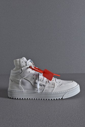<img class='new_mark_img1' src='https://img.shop-pro.jp/img/new/icons1.gif' style='border:none;display:inline;margin:0px;padding:0px;width:auto;' />新品 20SS OFF WHITE CANVAS OFF COURT SNEAKER 43 27-28cm WHITE オフホワイト